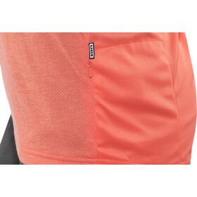 ION Scrub_Amp Långärmad cykeltröja Dam orange/röd